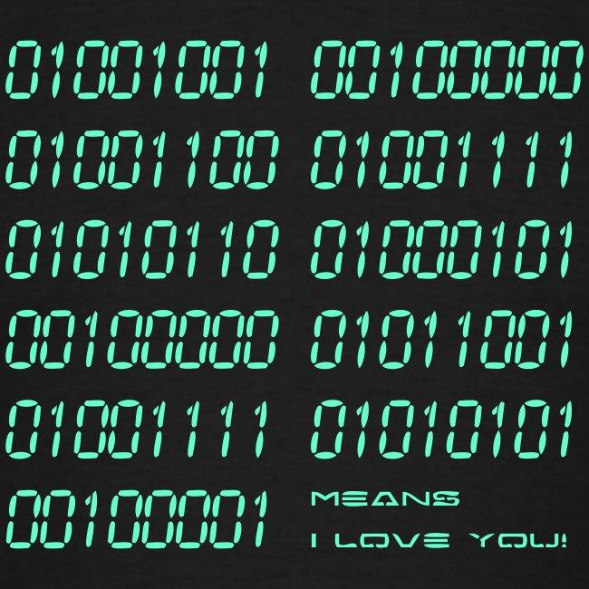I love binary