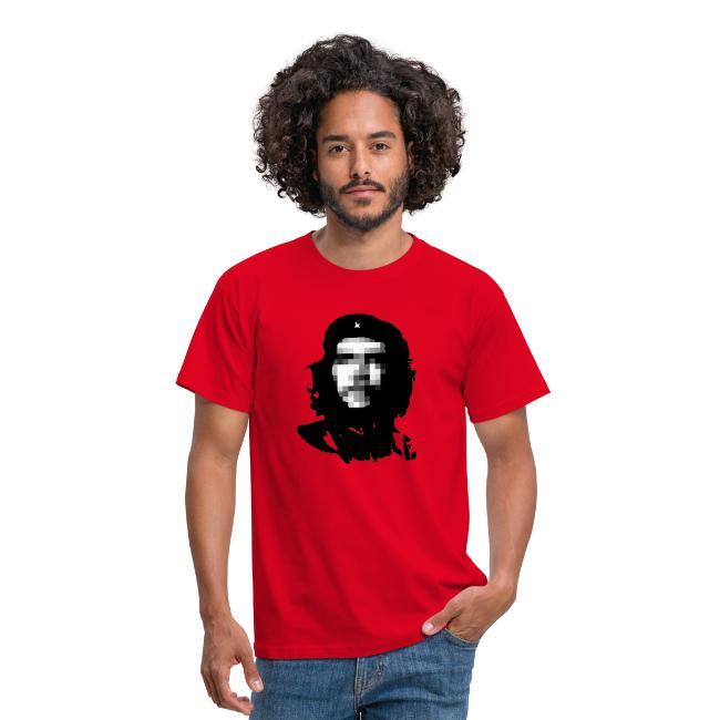 Pixelated Che Guevara