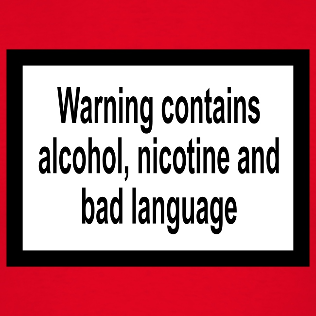 Warning contains T Shirt