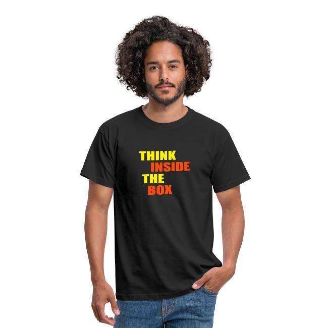 think inside the box t shirt