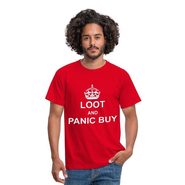 Panic buying T Shirt