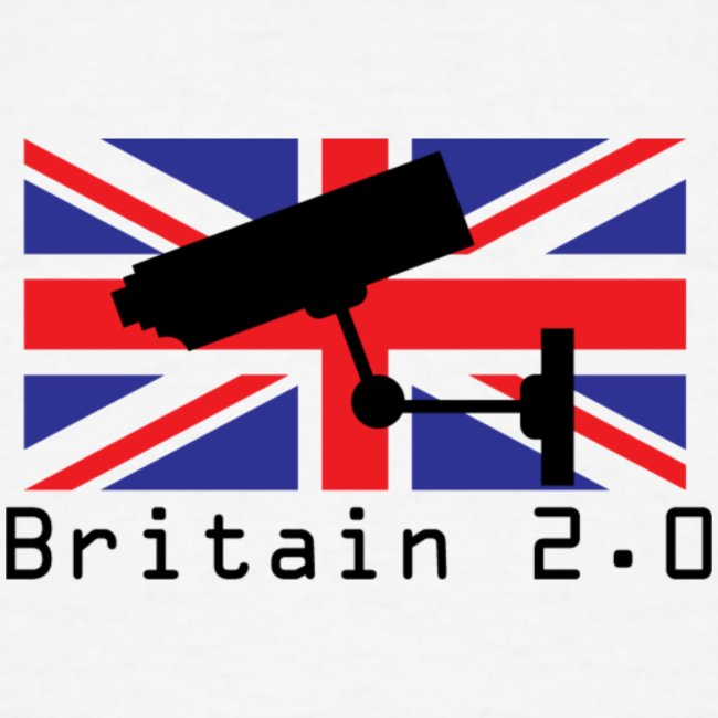 Union Jack CCTV T Shirt