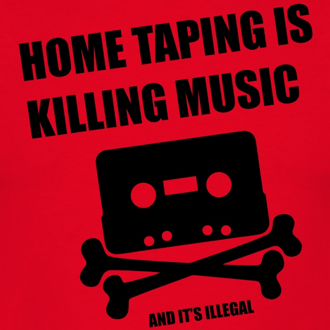 Home taping is killing music T Shirt