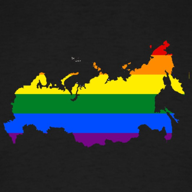 Mother Russia Gay Rainbow