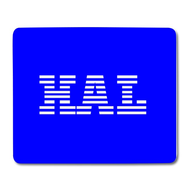 HAL - IBM Style Mousemat