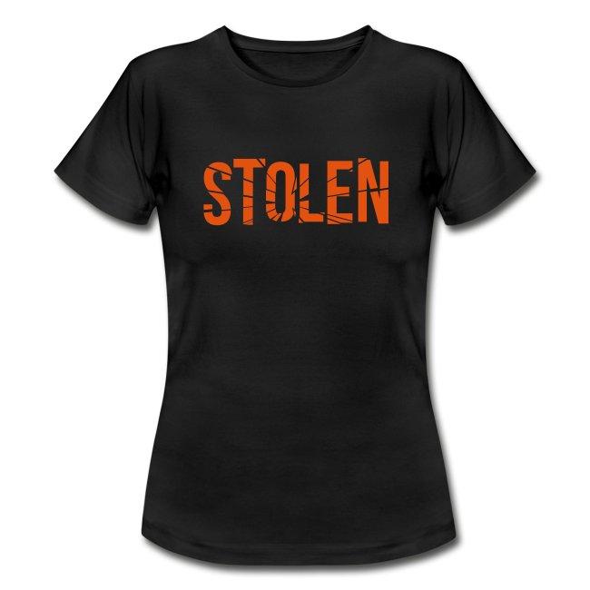 Orange Stolen T Shirt - Women's