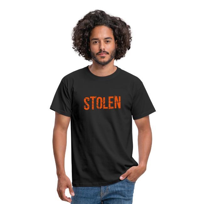 Orange Stolen T Shirt