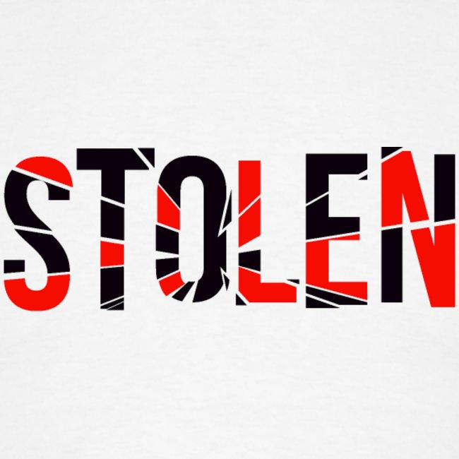 Red and Black Stolen T Shirt